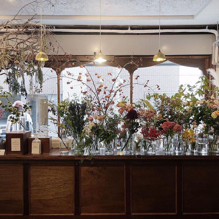 花のある暮らし、過ごせてる?東京にある雰囲気の良いフラワーカフェ7選