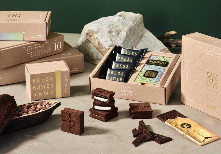 【終了】ベトナム初のチョコブランドとコラボ!バターサンド専門店からバレンタイン商品初登場