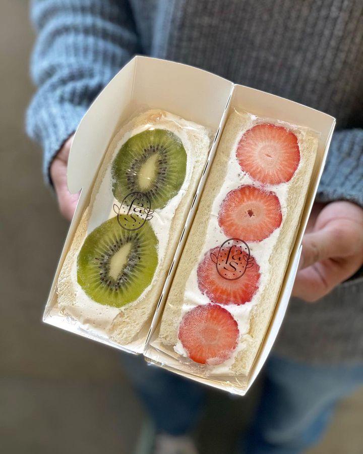 カロリーは通常の約1/3!日本初のヴィーガンフルーツサンド専門店OPEN