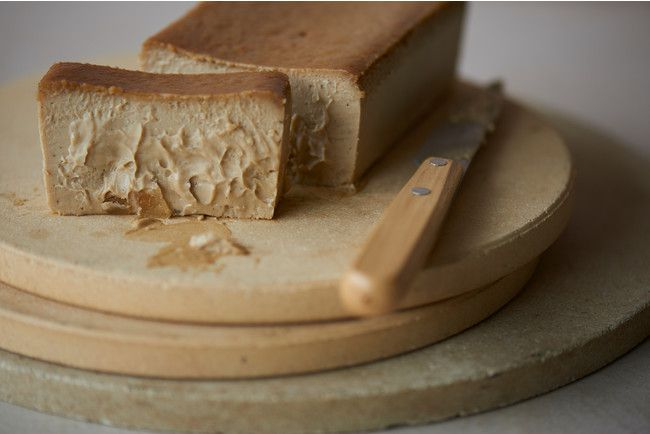 キャラメル×ナッツの奥深い味わい。「Mr. CHEESECAKE」からバレンタイン限定フレーバー登場