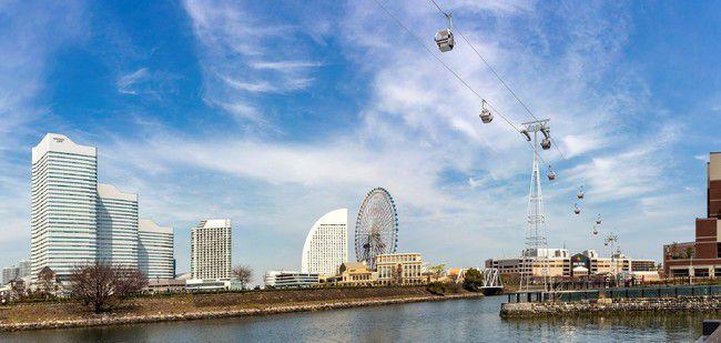 横浜の街を空から楽しむ!日本初の常設都市型ロープウェイがこの春誕生!
