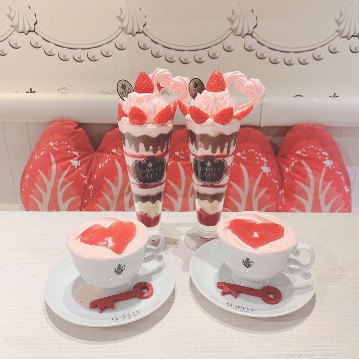 今年もドキドキな季節がやってきた♥バレンタイン限定スイーツがおすすめのカフェ