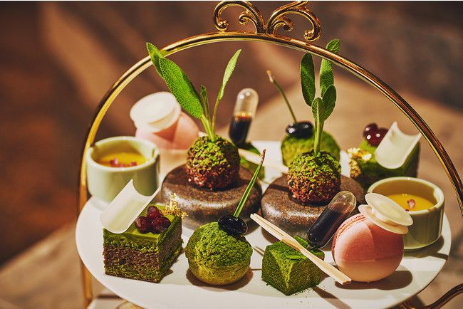 【終了】抹茶の香りやほろ苦さを楽しむ。「宇治抹茶アフタヌーンティー」浜松町にて開催