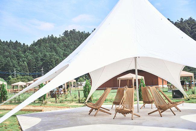 お洒落な北欧風グランピングで自然を満喫。埼玉「ノーラ名栗」にグランピング開業