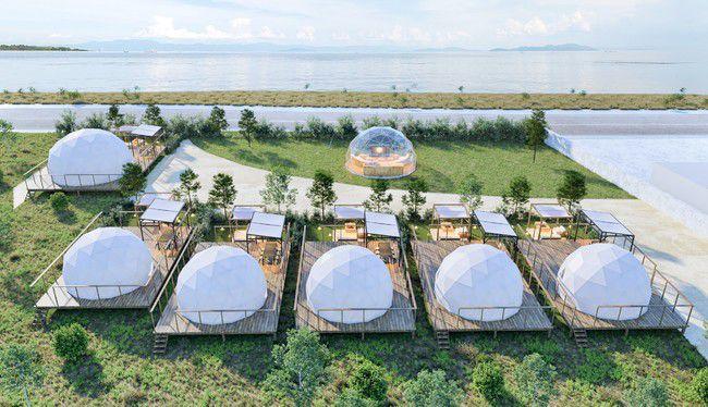 琵琶湖のほとりで快適ステイ。「グランドーム滋賀高島」オープン