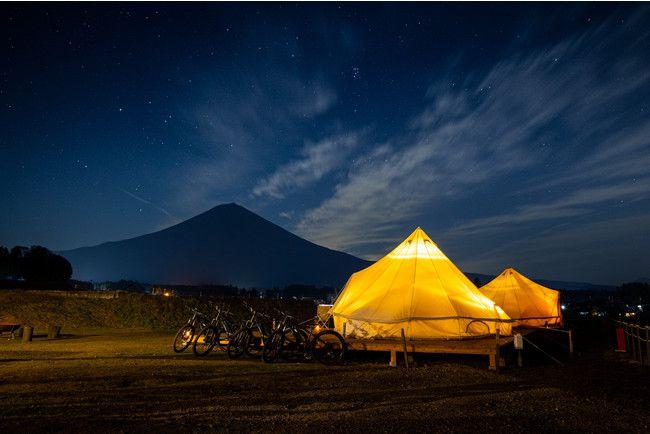 富士山や自然に囲まれた空間。「MT. FUJI SATOYAMA VACATION」オープン!