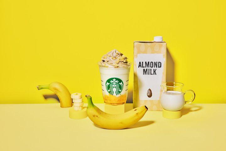 【終了】バナナとアーモンドミルクの優しい甘さ♡スタバのSpringシーズンがスタート!