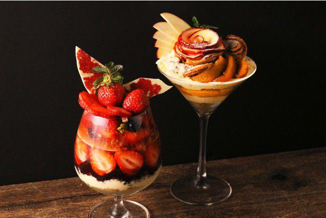旬の果実をたっぷり詰め込んだパフェ。恵比寿『TOOTH TOOTH TOKYO』で新作登場