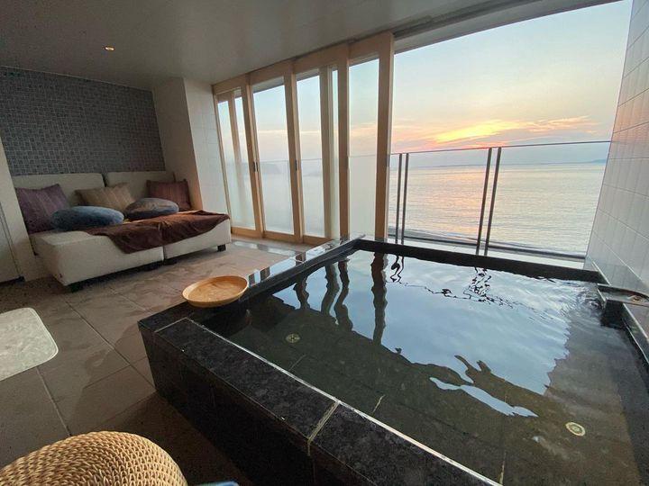 二人だけの極上空間。全国最新露天風呂付き客室ならここを推す。