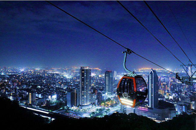 【開催中】夜景を眺めながら至福のひとときを。神戸布引ハーブ園のナイター営業がスタート!