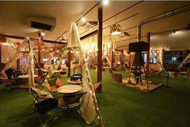 店内で焚火が楽しめる!?名古屋にて「wood design park 野並」オープン