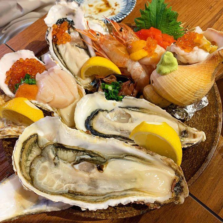 海鮮だいすきっ子集合~!居酒屋で美味しいお刺身が食べたいんです。