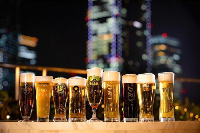 【終了】東京の夜景を見渡す屋外テラスで。「丸ノ内ホテル アーバンビアテラス2021」開催