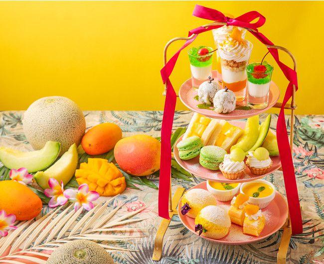 【終了】パスポートなしでタイ気分を。新宿にて「メロンとマンゴーのアフタヌーンティー」登場!