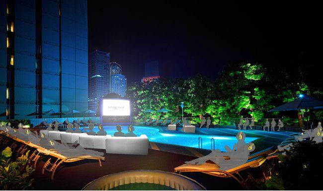 【終了】プールサイドで映画を楽しむ。品川にて『POOL SIDE CINEMA』開催!