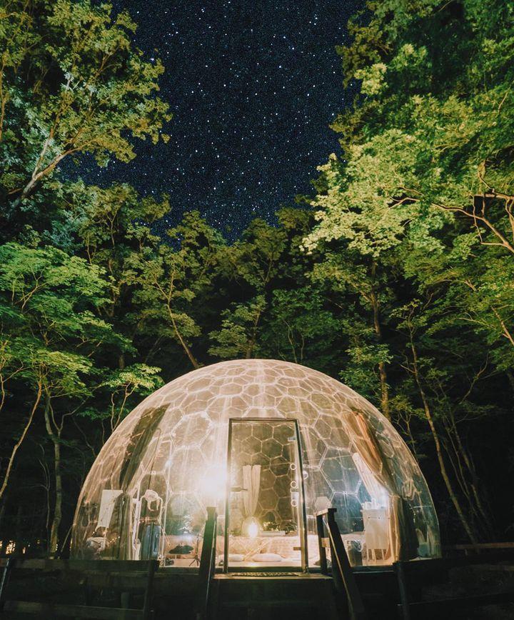 満点の星空に願いをかけて。天然のプラネタリウムを楽しむ グランピングList