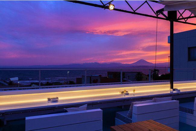 江の島・海・富士山を一望。「Ocean-Viewing Rooftop」オープン!