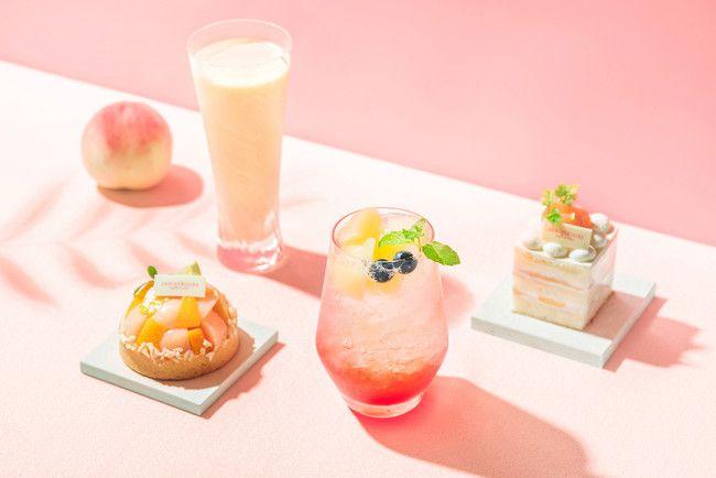 【終了】みずみずしい桃のスイーツを堪能!表参道にて「ラ ペッシュド アニヴェルセル」開催