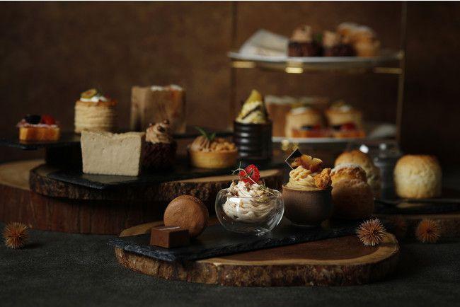 【開催中】秋の味覚を存分に堪能。ウェスティンホテル東京にて「マロン アフタヌーンティー」開催