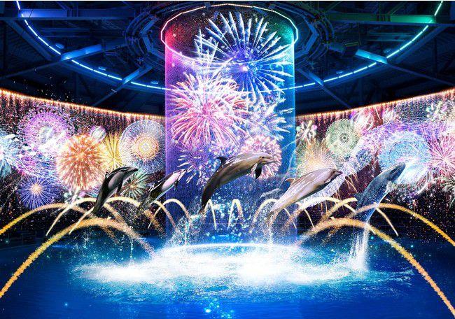 【終了】水族館が夏まつり会場に!アクアパーク品川にて「NAKED 花火アクアリウム」